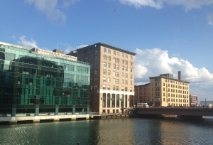 Blade's offices on Fort Point Channel