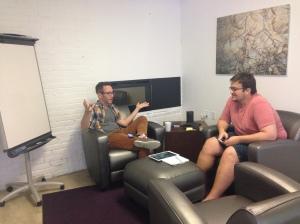 Brian Kalma and Petr Kaplunovich, Blade's UX pros
